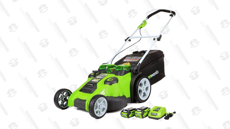 Greenworks 40V Twin Force Cordless Lawn Mower | $226 | Amazon