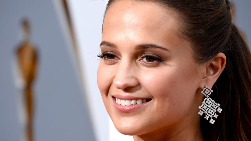 Illustration for article titled Alicia Vikander Is the New Lara Croft in Tomb Raider Reboot