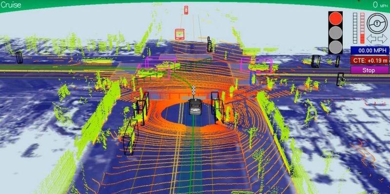 Illustration for article titled Basta un puntero láser para hackear los sensores de un coche autónomo