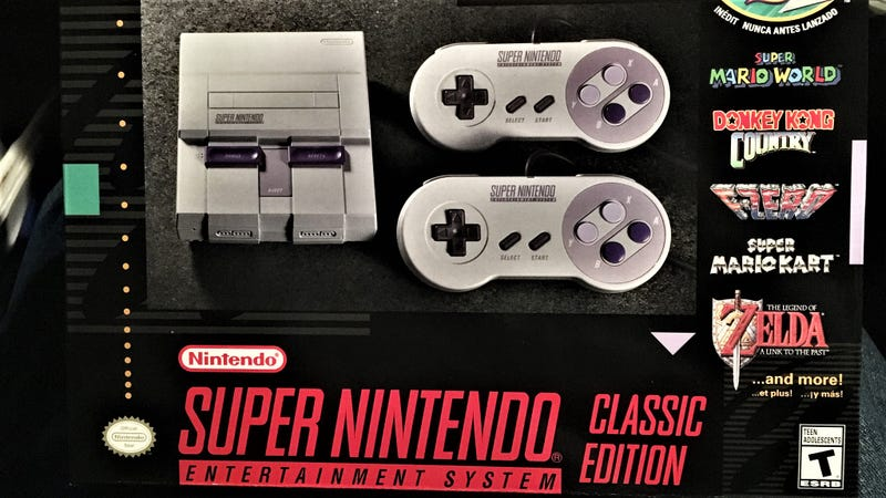 The SNES Classic Has Already Been Hacked to Add More Games
