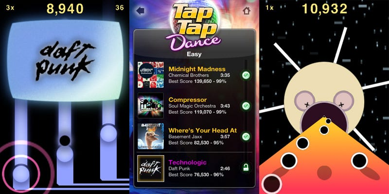 iphone music game tap tap revenge hits the floor in sequel tap tap dance