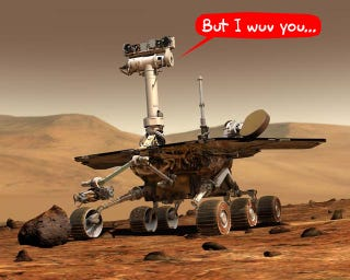 Illustration for article titled NASA Leaving Spirit Mars Rover to Die Due to Budget Cuts