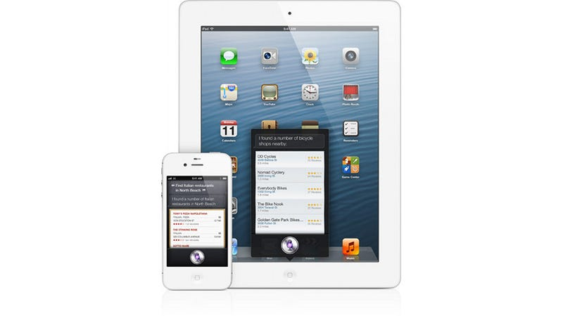 Illustration for article titled Siri Is on iPad with iOS 6