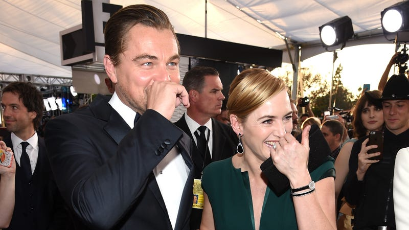 "Leo: ""What are you laughing at?"" Kate: ""Just life. What are you laughing at?"" Leo: ""[Pause] That viral video I sent you this morning...I forwarded it to you, you didn't get it?"" Kate: ""No... I'm sure it's funny."""
