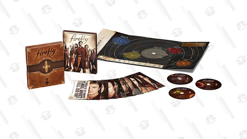 Firefly 15th Anniversary Collector's Edition Blu-ray Set | $13 | Walmart and Amazon