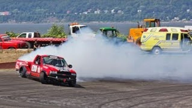Who Says You Can't Drift A Pickup Truck?