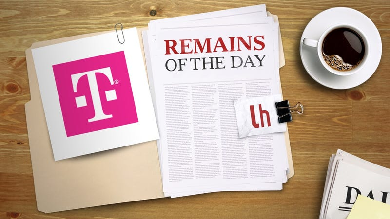Illustration for article titled Remains of the Day: Dutch Regulators Say T-Mobile Is Violating Net Neutrality