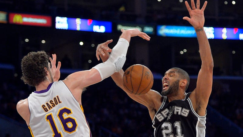 Reports: Spurs Sign Pau Gasol, And Tim Duncan Is Probably Retiring