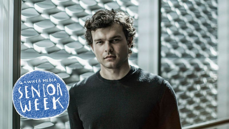 Alden Ehrenreich, the new Han Solo, seen here and below in photos taken at Star Wars Celebration Europe. All Images: Disney/Lucasfilm