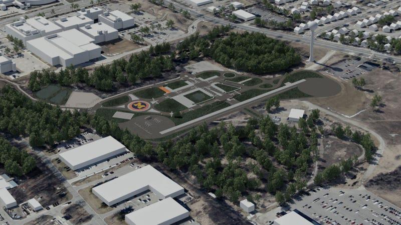 Illustration for article titled Kamuvárost építenek Michiganben sofőr nélküli autók tesztelésére