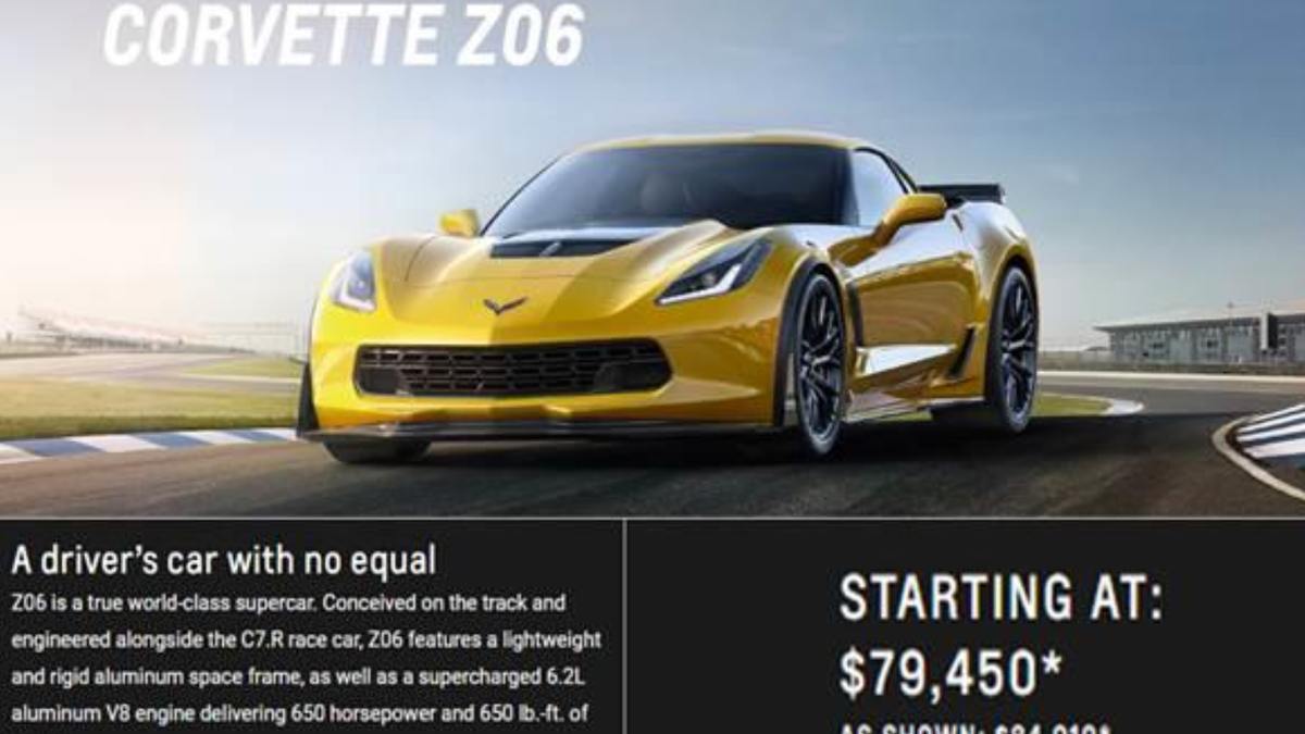 Fourth Class Action Lawsuit Filed Over Corvette Z06s Going Into Limp