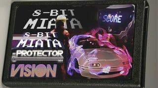 Retro Drifting Music Video featuring 8-Bit Miata