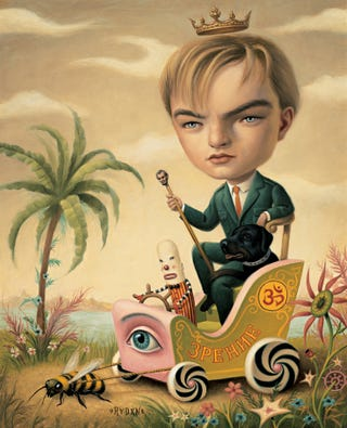 Illustration for article titled Paintings by Mark Ryden