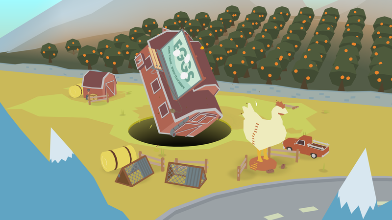 Illustration for article titled Donut County looks good enough to eat