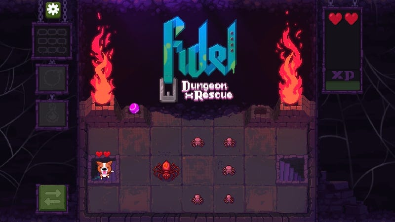 Illustration for article titled My New, Healthier Mobile Game Obsession Is Fidel: Dungeon Rescue