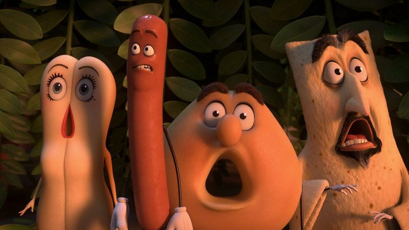 The filthy Disney spoof Sausage Party actually has something to say