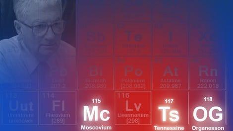 tres lugares y un cientfico as se llaman los cuatro nuevos elementos de la tabla peridica