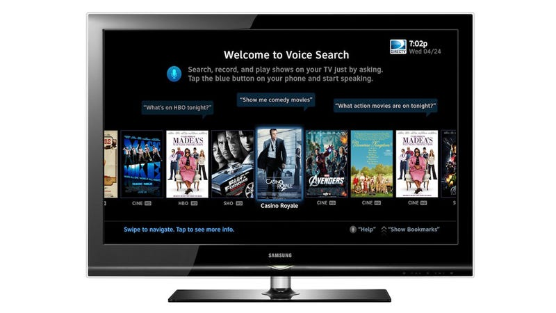 Illustration for article titled Voice Control Is Coming to DirecTV's Smartphone App
