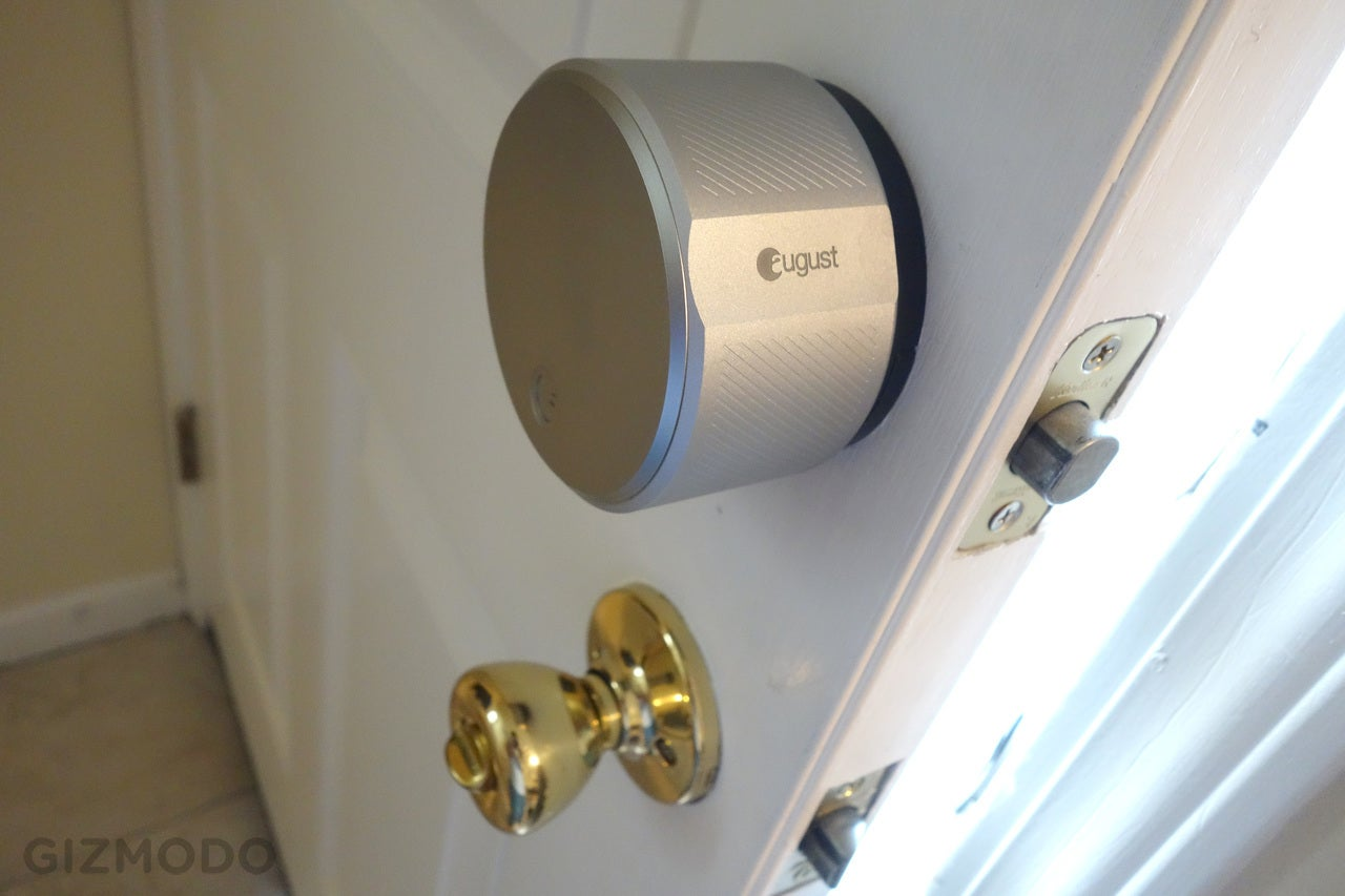 August Smart Lock and Connect Review Ill Use Keys Thanks