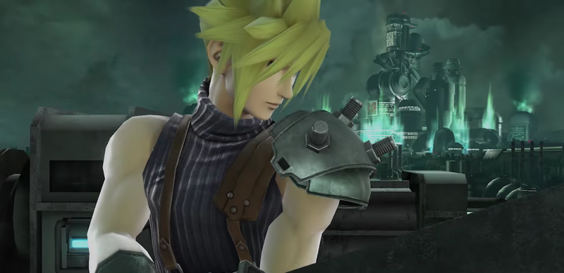 Illustration for article titled Smash Bros. Modders Are Already Playing The Unreleased Final Fantasy VIIStage
