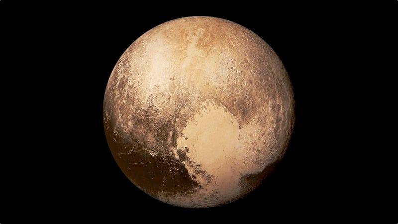 Illustration for article titled Un nuevo estudio sugiere que Plutón es un planeta, después de todo