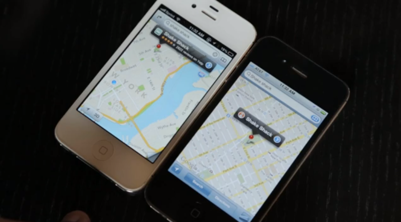Illustration for article titled Apple Maps Vs Google Maps: A Side By Side iPhone Comparison