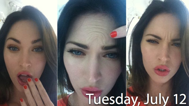 Illustration for article titled Docs Suspect Megan Fox Faked The No-Botox Pix