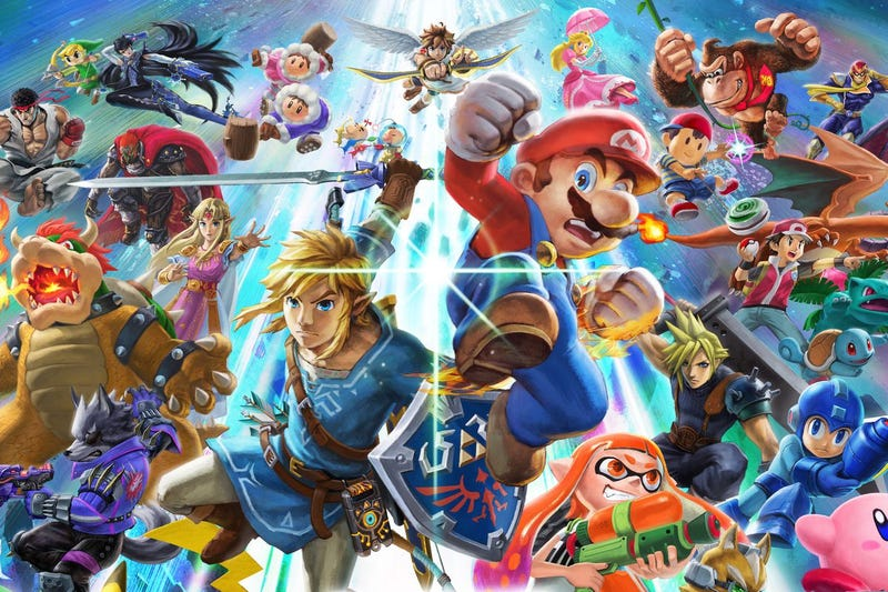 Illustration for article titled Smash Ultimate Is Nintendo At Its Best And Worst