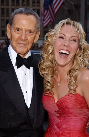 """Illustration for article titled Broadway Legend Tony Randall's Jailbait Widow Heather: """"We Had Frequent Sex"""""""