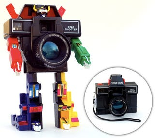 Illustration for article titled I Bet Your Camera Can't Transform Into the Defender of the Universe