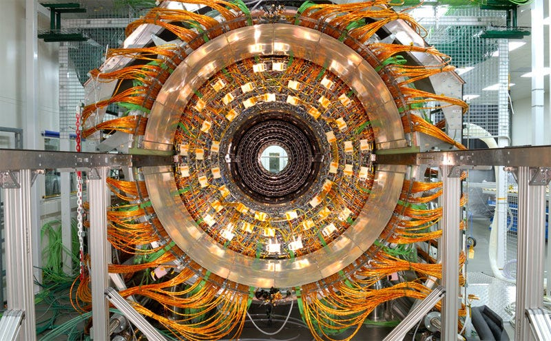 Illustration for article titled Large Hadron Collider Might Annihilate Humanity, But it Sure is Pretty