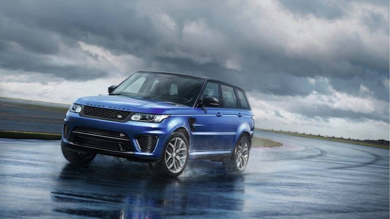 Illustration for article titled The Range Rover Sport SVR Is The Fastest Land Rover Ever