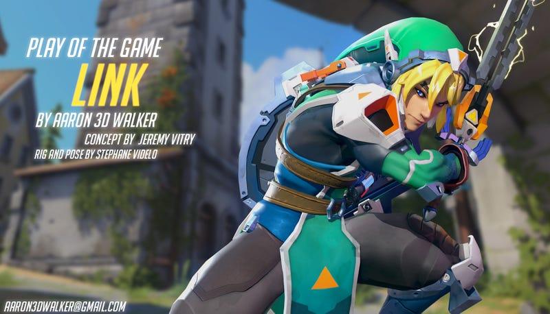 Illustration for article titled Zelda vs Overwatch