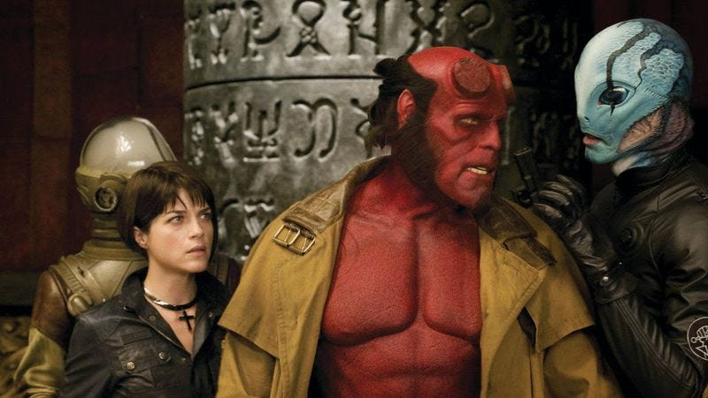 Illustration for article titled Guillermo del Toro talks about plot of Hellboy 3, which he won't be making