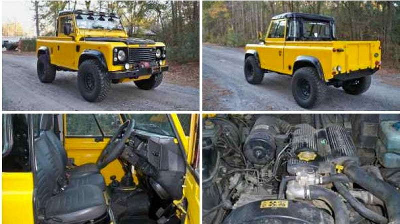 Illustration for article titled For $17,500, this Defender 90 will never do 90