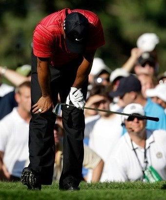 Illustration for article titled Tiger Woods: Golf's Newest Choke Artist