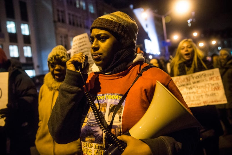 Erica Garner (Andrew Burton/Getty Images)