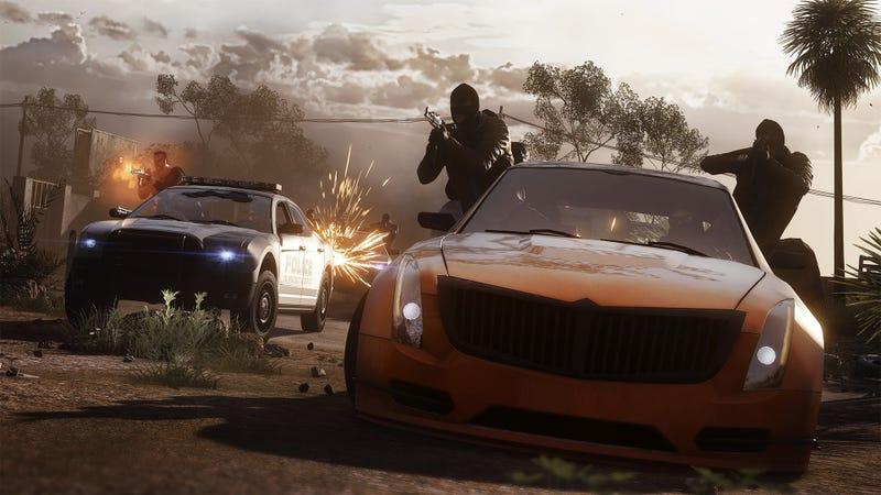 Illustration for article titled OPPO PS4: Battlefield Hardline Beta.