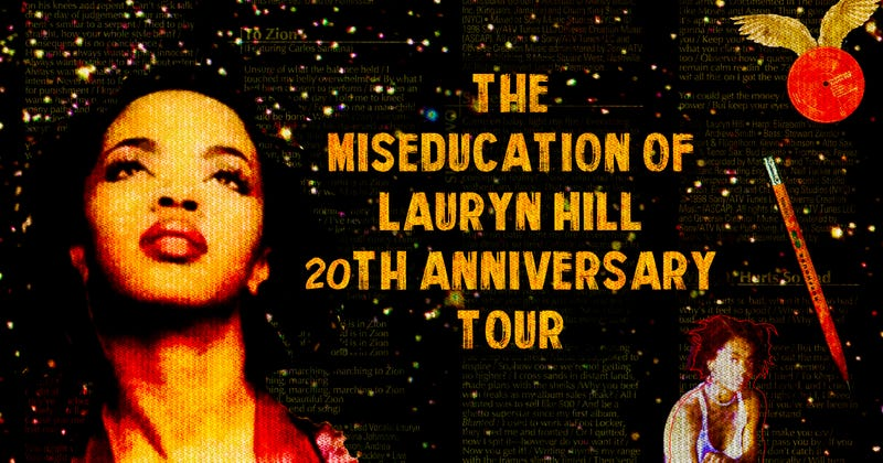 Illustration for article titled SZA, Dave Chappelle, and more join The Miseducation Of Lauryn Hill anniversary tour