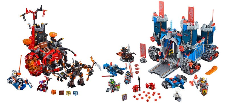 Illustration for article titled Medieval Times Gets Some Futuristic Upgrades With Lego's New Nexo Knights