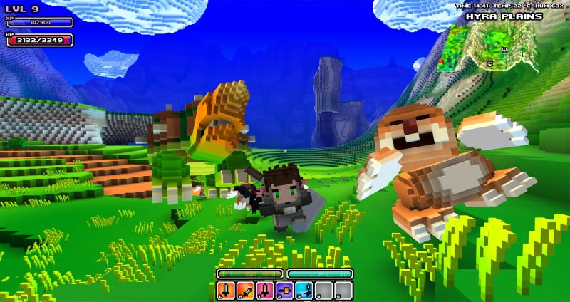 What's Cube World Like?