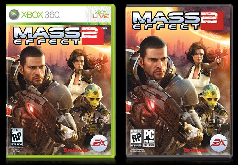 Illustration for article titled The Mass Effect 2 Box Art Saga Continues