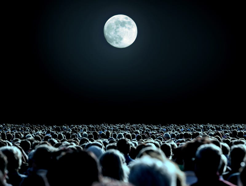 Illustration for article titled Moon Receives Standing Ovation At Apollo 11 Anniversary Event