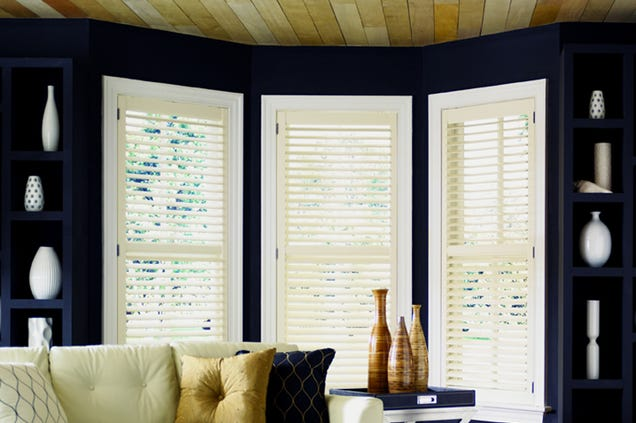 Illustration for article titled Vinyl Wooden Shutters