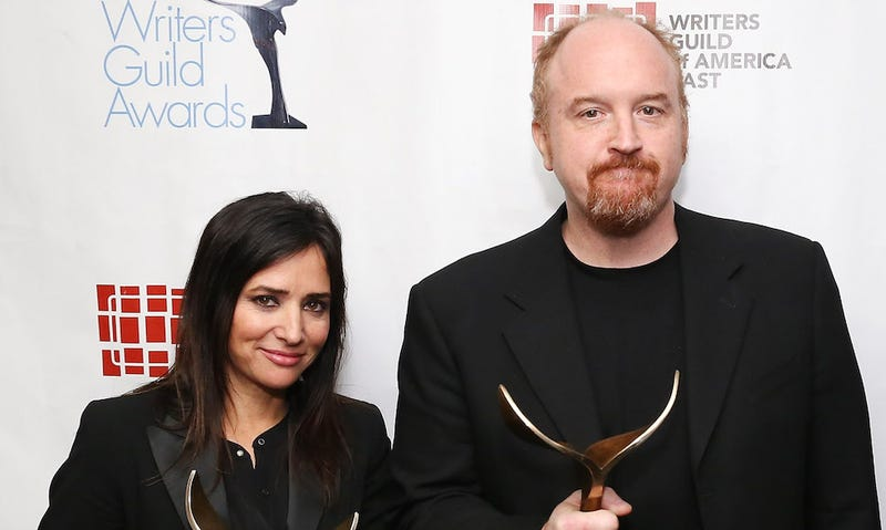 Illustration for article titled Pamela Adlon Is Working on a Pilot With Louis C.K.