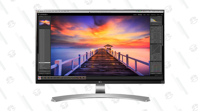 Save $200 on This 4K LG Monitor and Get a Closer Look at Your Favorite Games