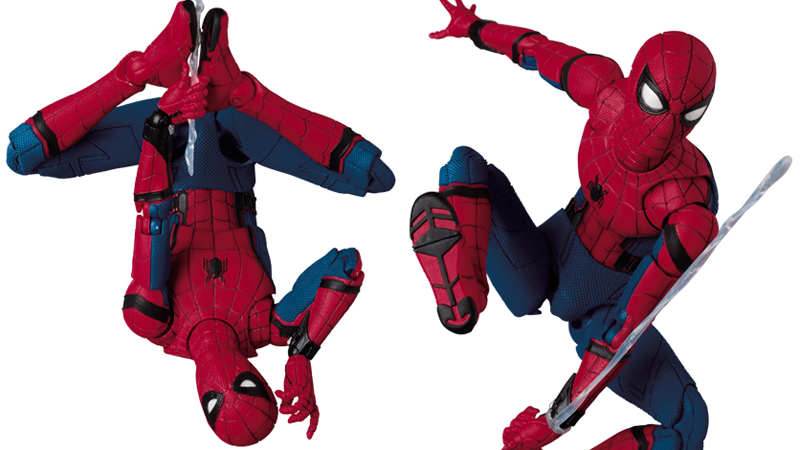 Illustration for article titled This Spider-Man: Homecoming Action Figure Is Amazingly Poseable