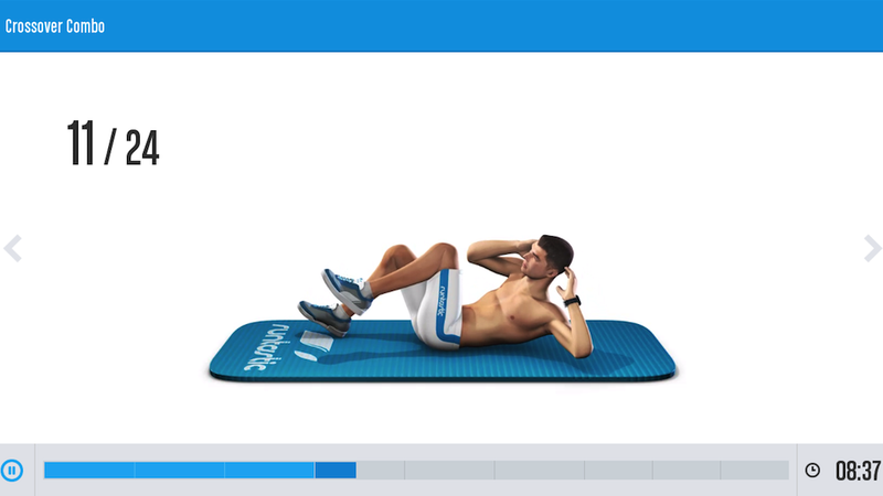 Illustration for article titled Runtastic's New App Goes Straight For the Abs