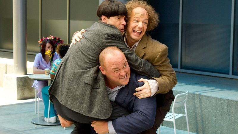 Illustration for article titled The Three Stooges
