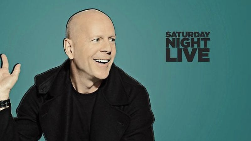 """Illustration for article titled Saturday Night Live: """"Bruce Willis; Katy Perry"""""""